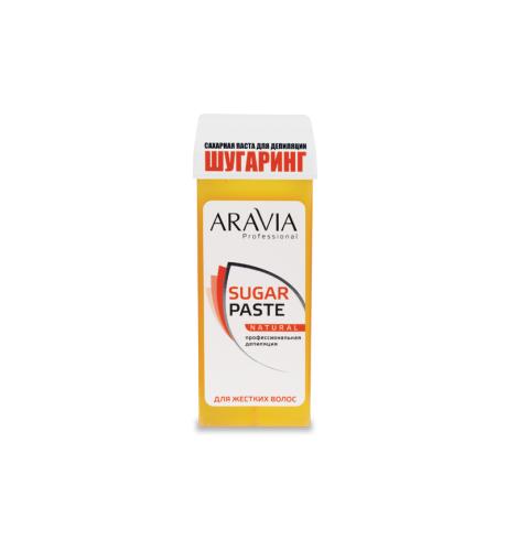 "ARAVIA Сахарная паста в катридже ""Натуральная"" очень мягкая  170 гр"