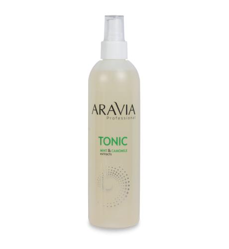 ARAVIA Тоник для очищения и увлажнения кожи с мятой и ромашкой 300мл