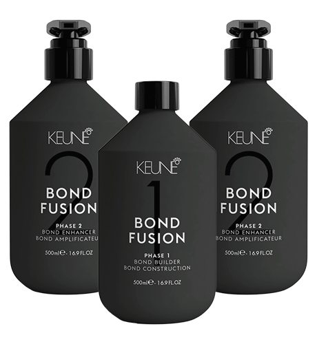 KEUNE Bond Fusion набор Фаза 1 (500 мл) + Фаза 2 (2х500мл)
