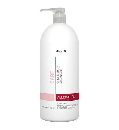 OLLIN Care Шампунь для волос с маслом миндаля 1000 мл