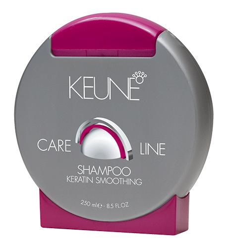 KEUNE Care Line KERATIN SMOOTHING Шампунь для непослушных и поврежденных волос  250 мл