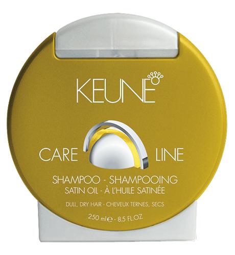 KEUNE Care Line CL SATIN OIL Шампунь шелковый уход 250 мл