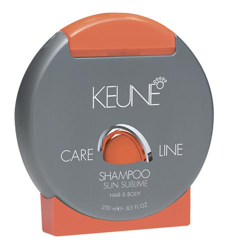 KEUNE Care Line SUN Шампунь Экстра защита Солнечная Линия 250мл