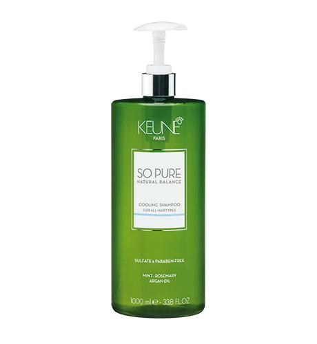 KEUNE SPA Освежающий Шампунь для всех типов волос 1000мл Cooling Shampoo