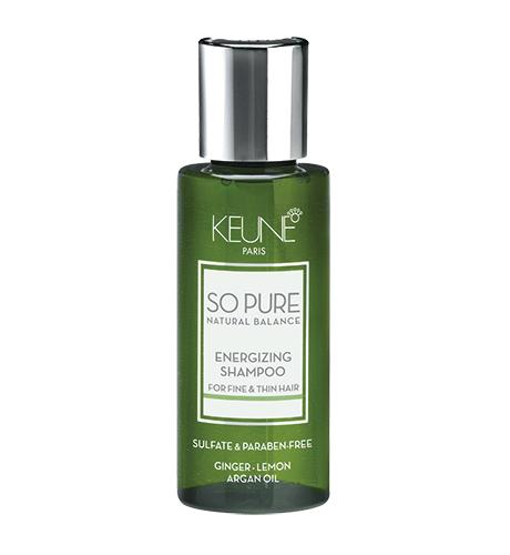 KEUNE SPA Тонизирующий Шампунь для тонких и редких волос 50мл Energizing Shampoo
