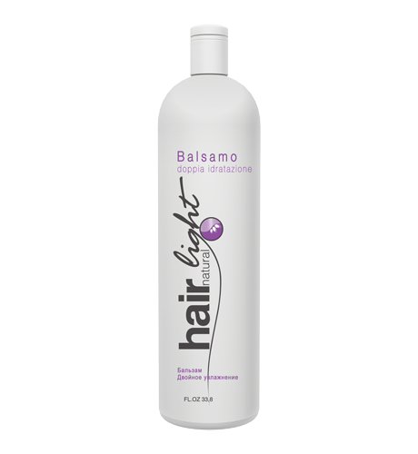 HAIR COMPANY Hair Light Natural Бальзам двойное увлажнение 1000мл. Италия