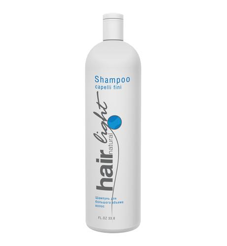 HAIR COMPANY Hair Light Natural Шампунь для большего объема волос 1000мл. Италия