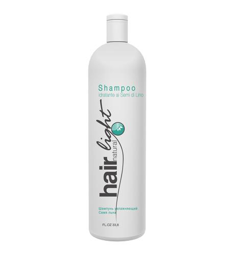 HAIR COMPANY Hair Light Natural Шампунь увлажняющий Семя льна 1000мл. Италия