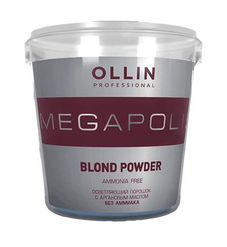 OLLIN Megapolis Осветляющий порошок на основе Арганового масла 500 г. Россия