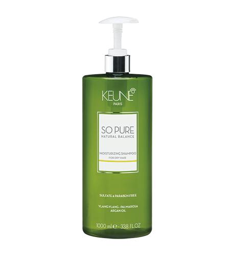 KEUNE SPA Увлажнящий Шампунь  для сухих и поврежденных волос 1000мл Moisturizing Shampoo