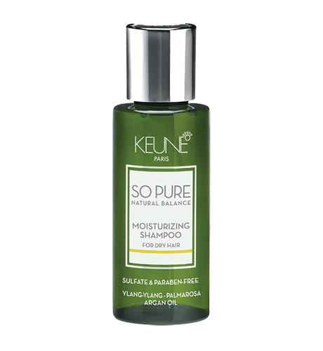 KEUNE SPA Увлажнящий Шампунь для сухих и поврежденных волос 50мл Moisturizing Shampoo