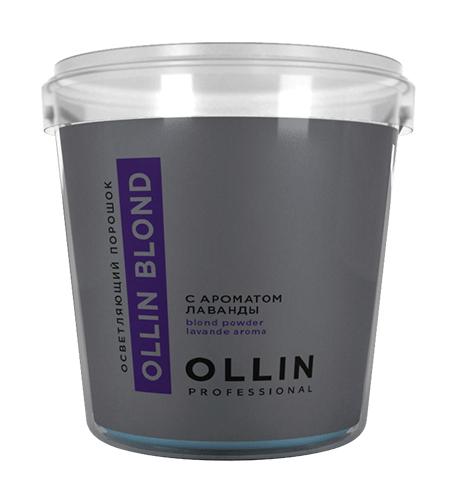 OLLIN Blond Осветляющий порошок с ароматом лаванды 500г.