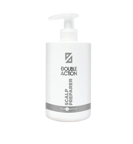 HAIR COMPANY Double Action Подготовительное средство для кожи головы, 500 мл.