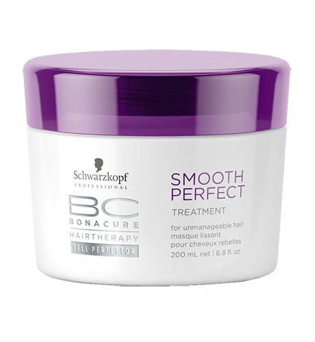 SCHWARZKOPF BC Smooth Shine Контроль гладкости Маска для гладкости волос 200мл Германия