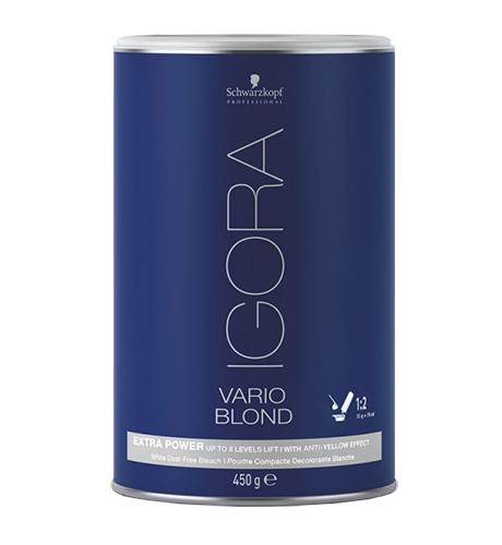 SCHWARZKOPF Igora Vario Blond Extra Power Порошок для проф. экстра обесцвечивания 450гр. Германия