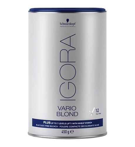 SCHWARZKOPF Igora Vario Blond Plus Порошок для проф. обесцвечивания 450гр. Германия
