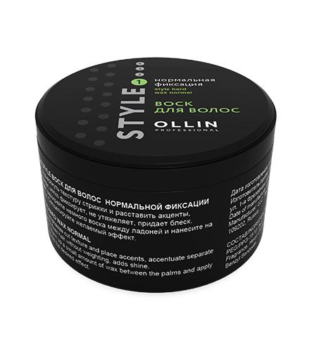 OLLIN Style Воск для волос нормальной фиксации 50мл Россия