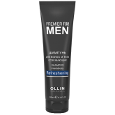 OLLIN Premier for Men Шампунь для волос и тела освежающий 250мл. Россия