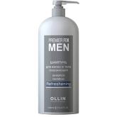 OLLIN Premier for Men Шампунь для волос и тела освежающий 1000мл. Россия